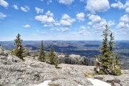 Amazing 360-degree view from the peak.