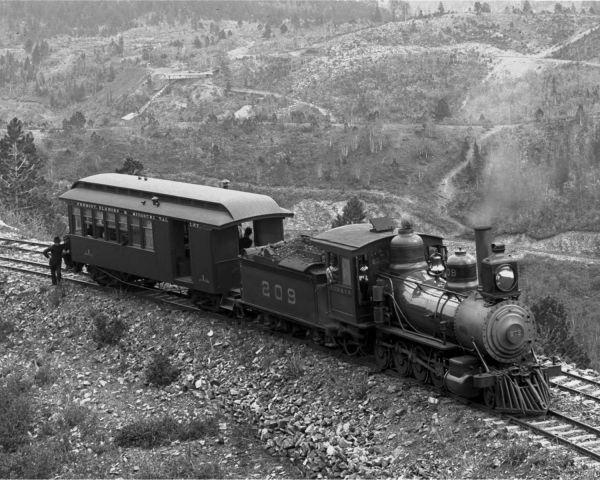 elk horn train