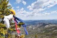 Native American prayer cloths.