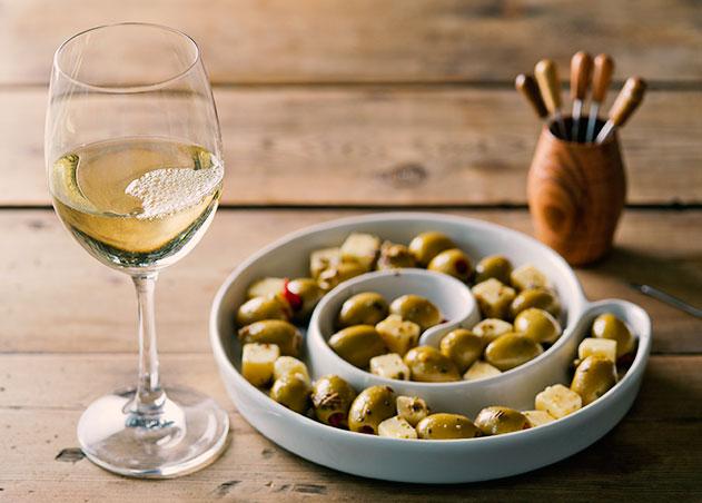 wine olives